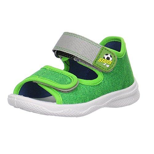 Superfit Jungen Sandale Grün Aus Textil von Größe 19 bis 25 Grün