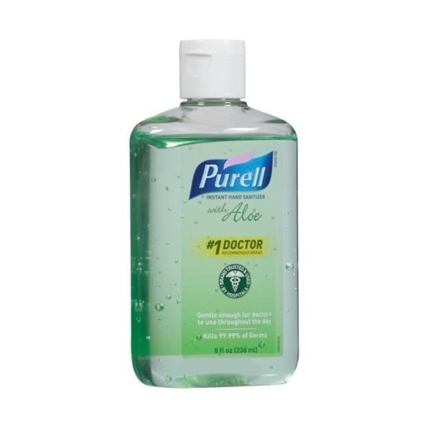 Purell Instant Hand Sanitizer With Aloe (Pack Of 6)