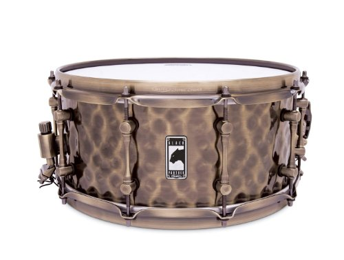 MAPEX BPBR465HZN Black Panther Series 14 x 6.5 Inches Sledgehammer Snare Drum