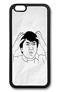 6 Plus Case, iPhone 6 Plus Case Confused Jackie Chan TPU Silicone Gel Back Cover Skin Soft Bumper Case Cover for Apple iPhone 6 PlusMaris's Diary