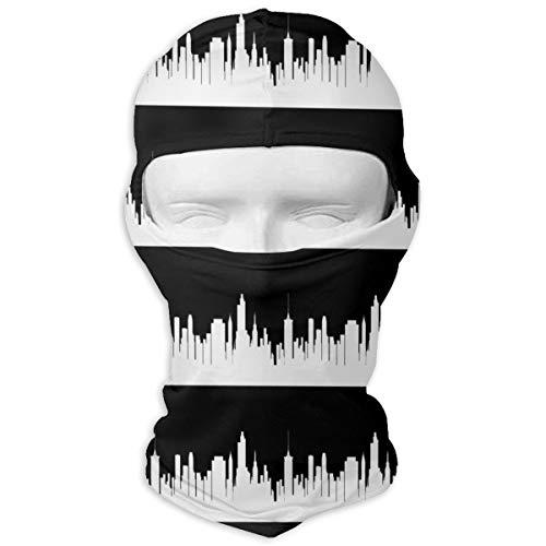 Windproof Balaclava, Tulsa Black Face Mask for Hunting Skiing -