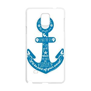 Anchor Quotes Samsung Galaxy Note 4 Cell Phone Case White SUJ8457463