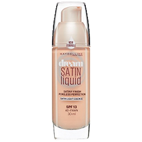 Maybelline Dream Satin Air-brush Perfection Liquid Foundation - 40 Fawn - Foundation Fawn Liquid