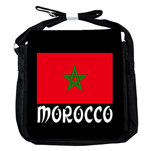 Marokko -Flagge - Unisex-Umhängetasche