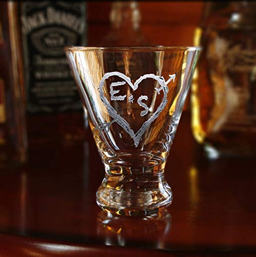 Engraved Personalized Martini Cosmopolitan Glass, M53