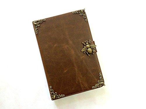 Bee ipad leather case, handmade ipad cover for iPad Mini 1 2 3 4 iPad Air 2 iPad Pro 9.7 inch 12.9 inch iPad Pro 10.5 inch MN0278