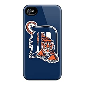 Anti-Scratch Hard Cell-phone Cases For iPhone 5 5s (Xlb17926shak) Provide Private Custom Colorful Baseball Detroit Tigers Pictures