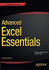 Advanced Excel Essentials is the only book for the experienced Excel developer. This book starts from the assumption that you are well-versed in Excel--and builds on your skills to take them to the advanced level. It will show you the buildin...