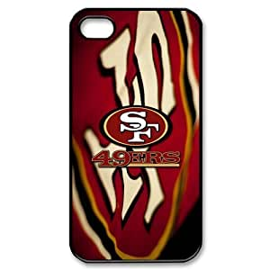 Godstore Custom New Style NFL San Francisco 49ers Logo Cover Hard Plastic Case For Iphone 6 4.7Inch Cover Case