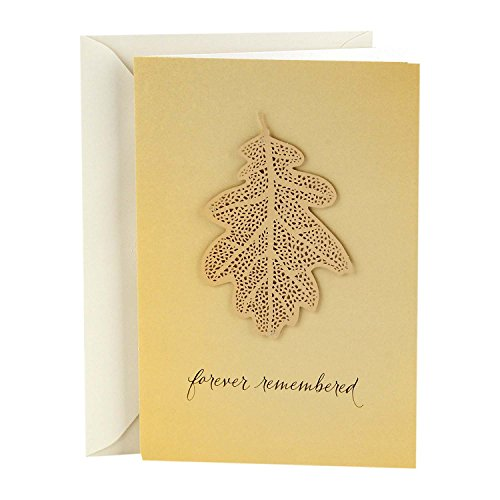 (Hallmark Signature Sympathy Card (Forever Remembered))