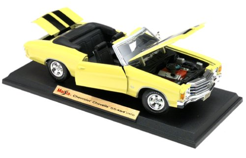 1972 Chevrolet Chevelle SS454 Convertible ~ Maisto 1:18 Scale (Chevrolet Chevelle Convertible)