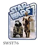 Star Wars ''R2D2 & C3PO'' waterproof stickers Disney character Toy Store