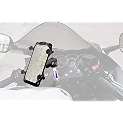 X Web Grip Mount Phone GPS Navigation Cradle Holder For Suzuki GSXR 600/750/1000 GSX 1300R HAYABUSA
