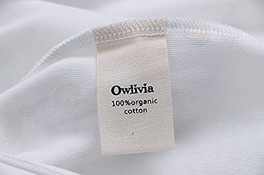 Owlivia Organic Cotton Baby Boy Girl Zip Front Sleep N Play Long Sleeve Footed Sleeper