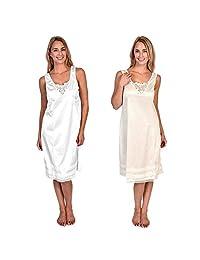 Patricia Lingerie Women's Customize Length Full Dress Slip