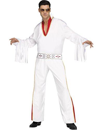 Fun World Vegas Rocker Evlis Adult Male Halloween Costume-STD Std 6'/200Lb]()