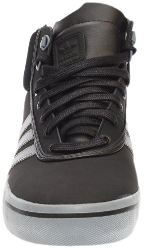 Adidas Performance Mens Adi-trek Fashion Sneaker Nero / Grigio Tech / Bianco