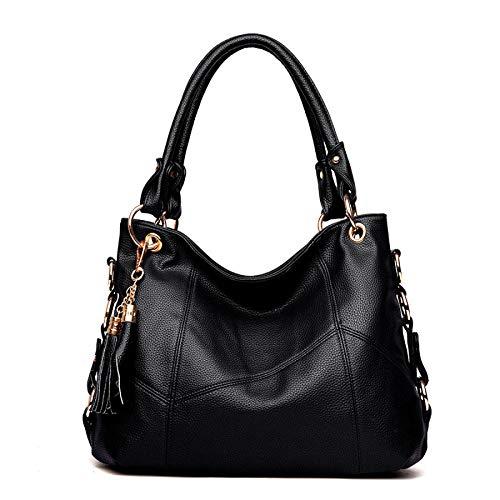 YXLONG Sac à Gland Femmes Nouvelle Bag Main à Automne Bandoulière black des Big Sauvage Sac Messenger Couture Mode r6FZrwxqA