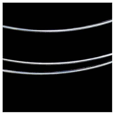 5 Ft Sterling Silver Round Wire 18 Gauge by uGems Wire by uGems Wire from uGems