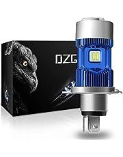 DZG H4 LED Headlight Bulbs 9003 HB2 HS1 P43t 6500K CREE Chips High Low Beam Conversion Kit 2 Yr Warranty