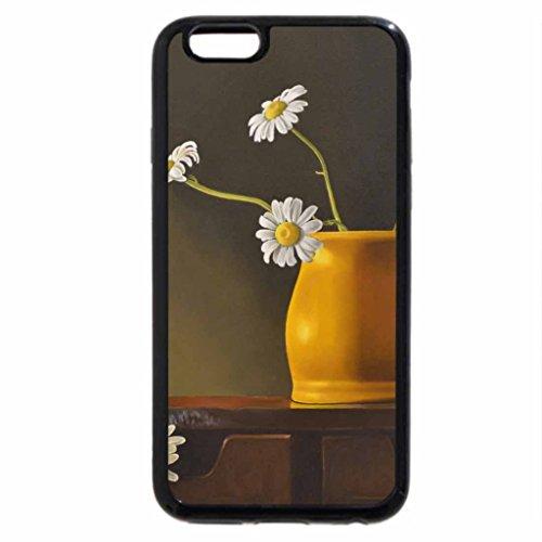 iPhone 6S / iPhone 6 Case (Black) Yellow Vase