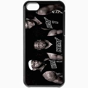 XiFu*MeiPersonalized iphone 4/4s Cell phone Case/Cover Skin NBA Miami Heat BlackXiFu*Mei