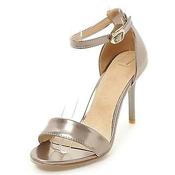 Tacón Del Nvxzd Mujer Stiletto Y Zapatos Club Oficina Sandalias cq4jL35AR