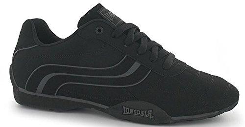 Schwarz Sneaker Size Herren Lonsdale Schwarz One 54xwUnqgI