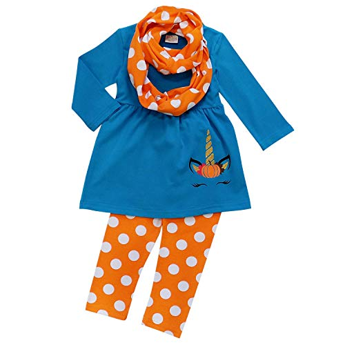 So Sydney Toddler Girls 3 Pc Halloween Fall