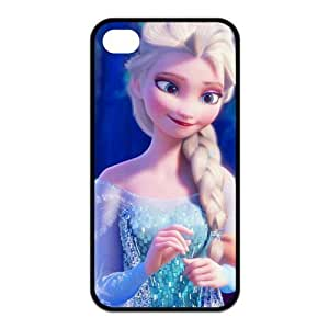 6 4.7 Case,TPU iPhone 6 4.7 Case,Cartoon Frozen Design Fashion Pattern Hard Back Cover Snap on Case for iPhone 6 4.7 (Black/white)