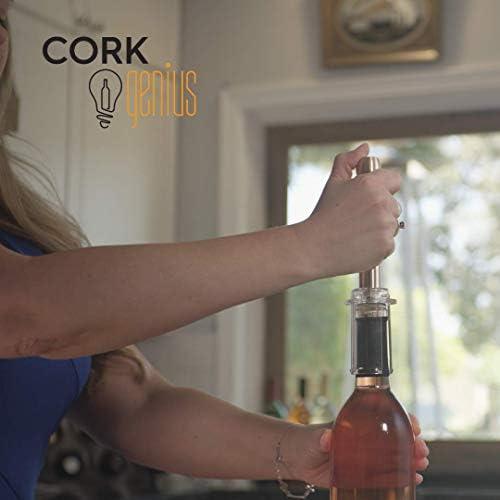 Cork Genius Easy Open Wine Opener-Air Lift Technology Effortless Bottle Opening