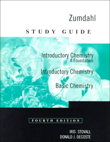 Download Study Guide for Zumdahls Introductory Chemistry: A