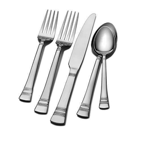International Silver Kensington 53-Piece Flatware Set, Service for 8 image