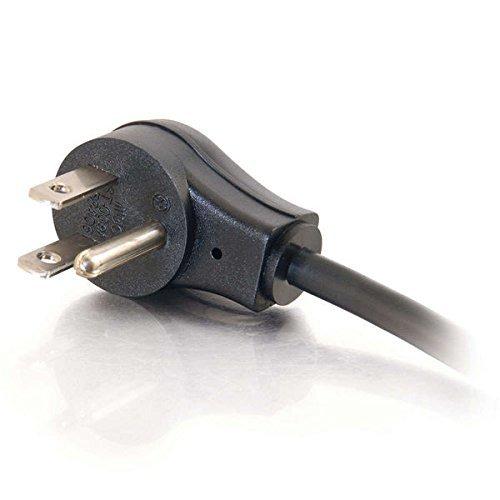C2G 1.5ft 18 AWG Universal Flat Panel Power Cord (NEMA 5-15P to IEC320C13) by C2G (Image #3)