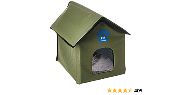 Outdoor Indoor Cat House By Pet Peppy Amazon Ca Pet Supplies