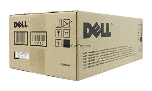 Dell H514C OEM Toner - 3130CN High Yield Magenta Toner (OEM# 330-1200) (9000 Yield) OEM