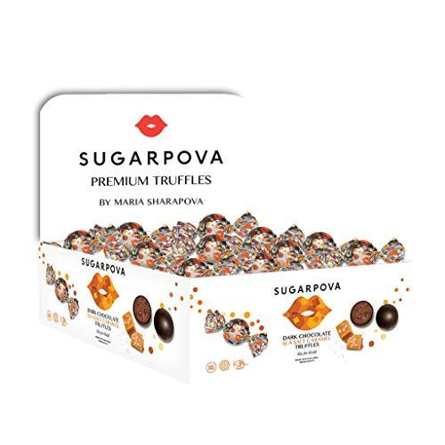 Sugarpova Dark Chocolate Sea Salt Caramel Truffles