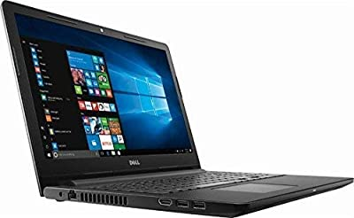 Dell Inspiron 15.6 Inch Thin and Light Customiez Laptop AMD A6 OR Intel i3 OR i5 CPU Maxxaudio, HDMI, Black,Windows 10 Choose Your RAM and SSD
