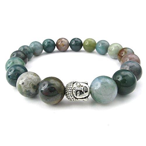 KONOV Womens Bracelet Energy Buddha