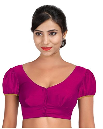 f73725f8e2be4 SINGAAR Women s Readymade Blouse  Amazon.in  Clothing   Accessories