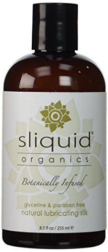 H2o+ Natural - Sliquid Organics Silk Lubricant, 8.5 Ounce