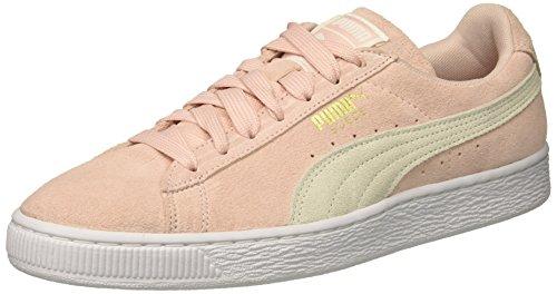 PUMA Women's Suede Classic Wn Sneaker Veiled Rose-puma White-gold