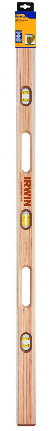 IRWIN Tools 1500W Wood Mason's Level, 48-Inch (1801105) by Irwin Tools