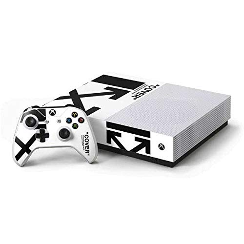 Arrow Skin White - Skinit Black and White Arrows Xbox One S All-Digital Edition Bundle Skin - Streetwear Gaming Decal - Ultra Thin, Lightweight Vinyl Decal Protection