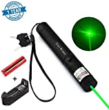 5. Whispex High Power Multi Functional Green Pointer Tactical Hunting Sight Outdoor Recreational Camping Outdoor Hiking LED Flashlight Hand held Flashlight