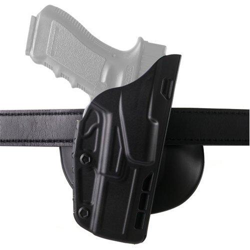 Safariland 7378 7TS ALS Concealment Holster, Flex-Paddle & Belt Loop Combo, Glock 19, 23, 32, SafariSeven Plain Black, Left Hand