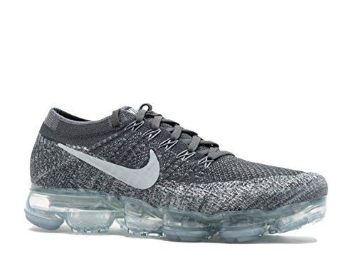 Nike Air Vapormax Flyknit Asphalt Grey - 849558-002 - dark grey, black-wolf grey