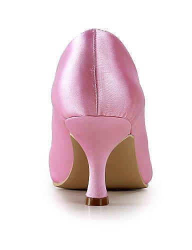 beige Punta Fiesta Tacones 3 Zapatos Boda y Mujer 3 ZQ 3in Noche 3 4in red de 3 3in 4in Azul Beige Tacones boda Vestido Rojo Blanco Redonda tqXqzFw