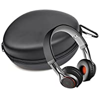 CheckOut Case Star ® Black Color Protective Carrying Hard Case Bag for Jabra REVO Wireless Bluetooth Stereo Headphones cheapest