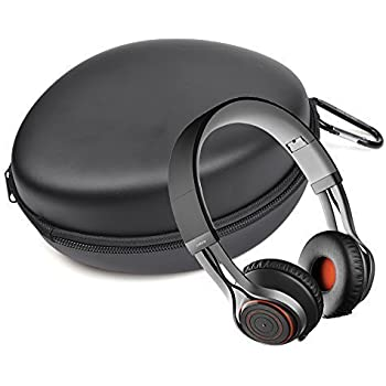 Case Star Black Color Protective Carrying Hard Case Bag for Jabra REVO Wireless Bluetooth Stereo Headphones